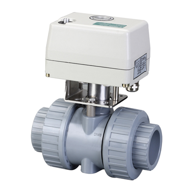 Q661F-10S型CPVC电动球阀